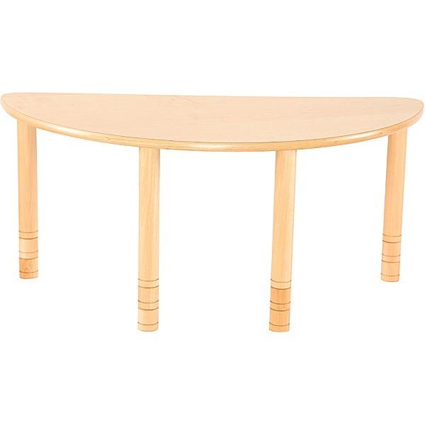 Table crèche demi cercle réglable