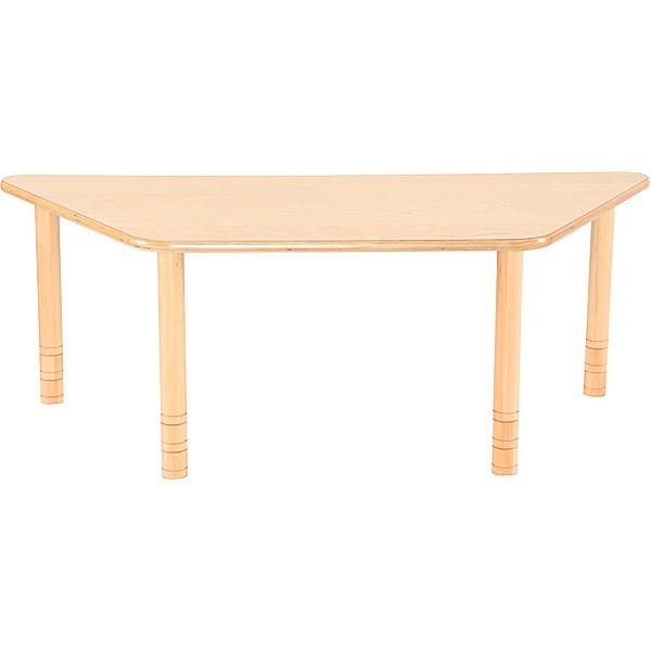 Table garderie trapèze réglable