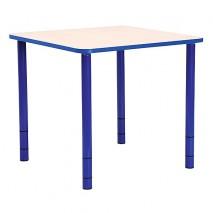Table enfant carrée réglable - de 40 à 58 cm