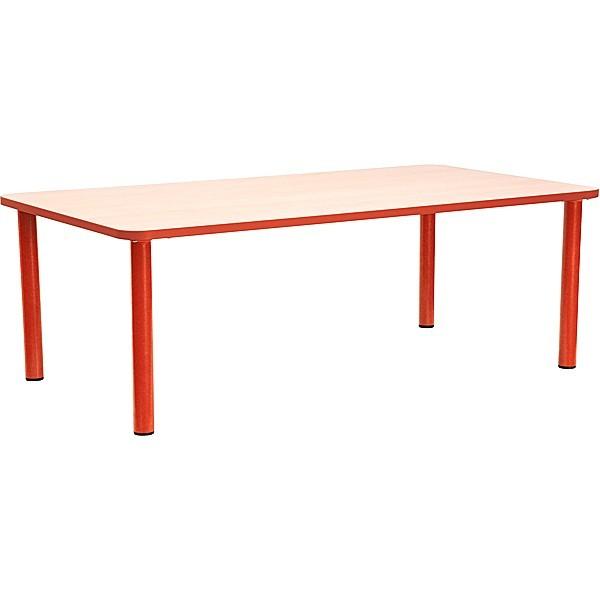Table rectangle maternelle fixe - T1 à T3