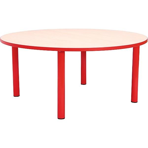 Table ronde crèche fixe