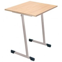 Table scolaire individuelle fixe
