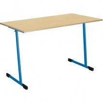 Table scolaire 2 places fixe