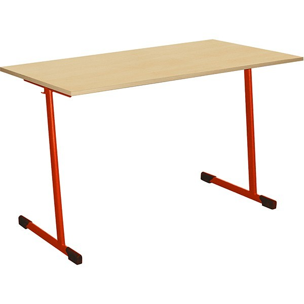 Table scolaire 2 places fixe