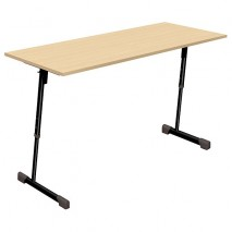 Table scolaire 2 places réglable