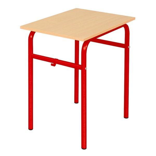 Table d'école fixe 1 place