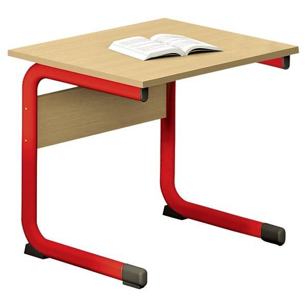 Lot de 2 table salle de classe individuelle