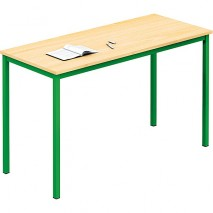 Lot de 10 tables scolaire standard
