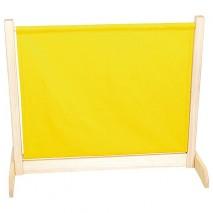 Cloison mobile jaune