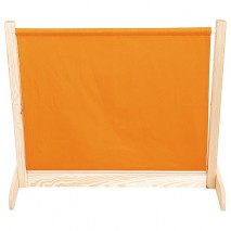 Barrière mobile orange