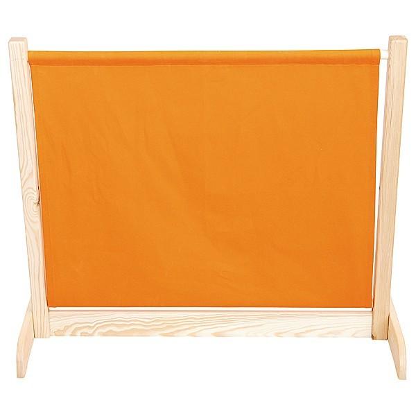 Barrière mobile orange