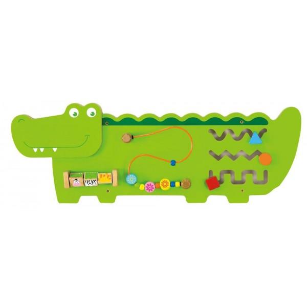 Panneau d'activité mural croccodile
