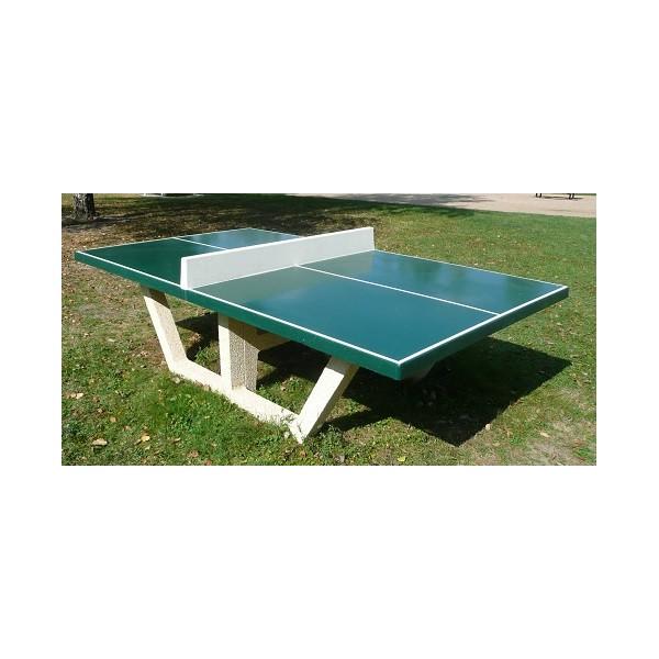 Table de ping pong béton