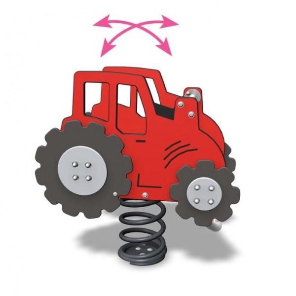 Jeu sur ressort tracteur