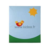 Protection murale - Motif oiseau