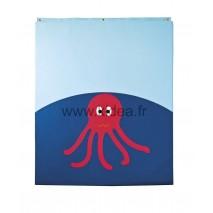 Protection murale - Motif pieuvre