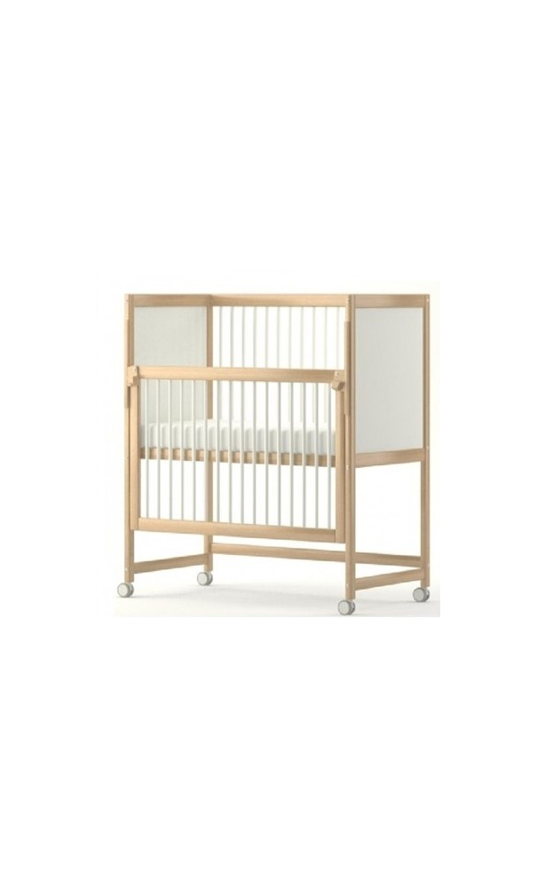 lit sur lev avec barri re coulissante kidea. Black Bedroom Furniture Sets. Home Design Ideas