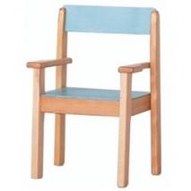Lot 4 fauteuils empilables