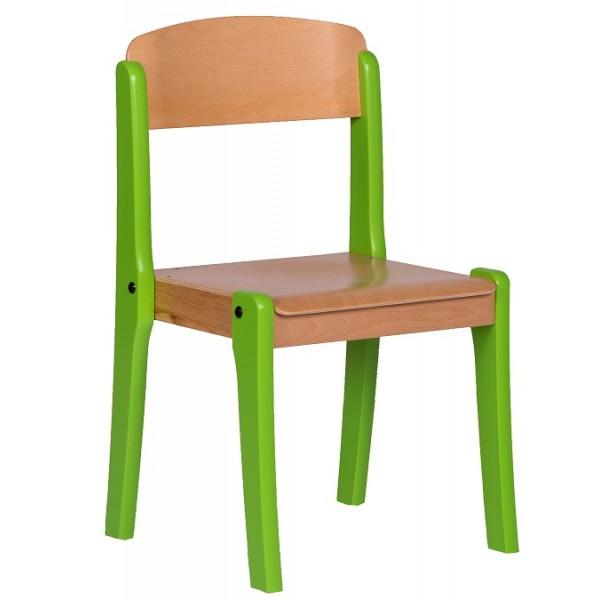 Chaise maternelle empilable - T1 à T3