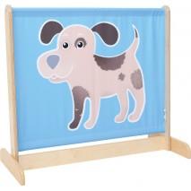 Barrière séparation chien
