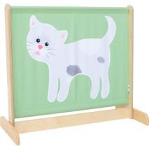 Barrière séparation chat