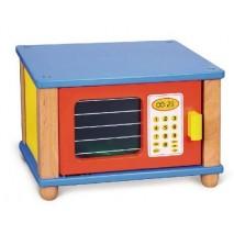 Micro onde en bois enfant