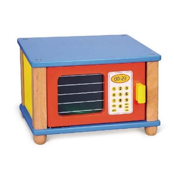 jeu maternelle - Micro onde en bois enfant