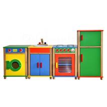 Ensemble cuisine en bois enfant