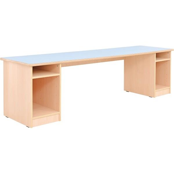 Longue table salle de classe primaire