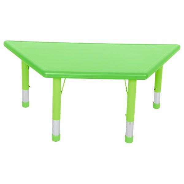 table plastique trapèze réglable