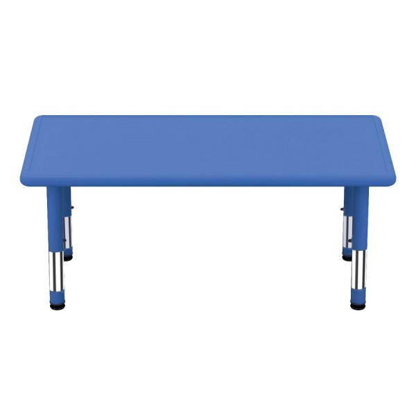 Table plastique rectangulaire
