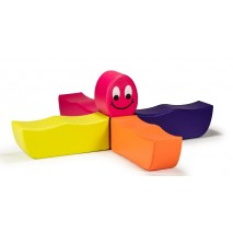 Ensemble bancs mousse enfant