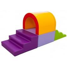 Parcours de motricité avec une arche (4 modules)