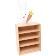 Etagère ludique lapin