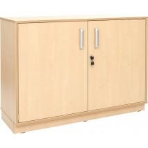 Meuble étagères avec portes et clé
