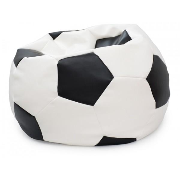 Pouf rond ballon de foot