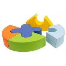 Puzzle en mousse (5 pièces)