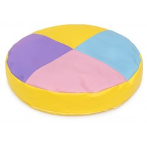 Grand coussin rond - 4 couleurs