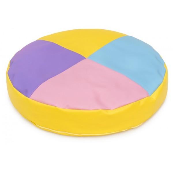 Grand coussin enfant rond - 4 couleurs