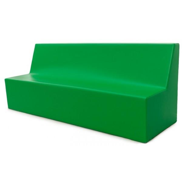 Canapé 3 places en mousse avec dossier