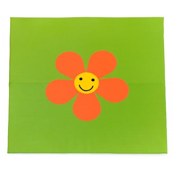 Tapis motricité fleur