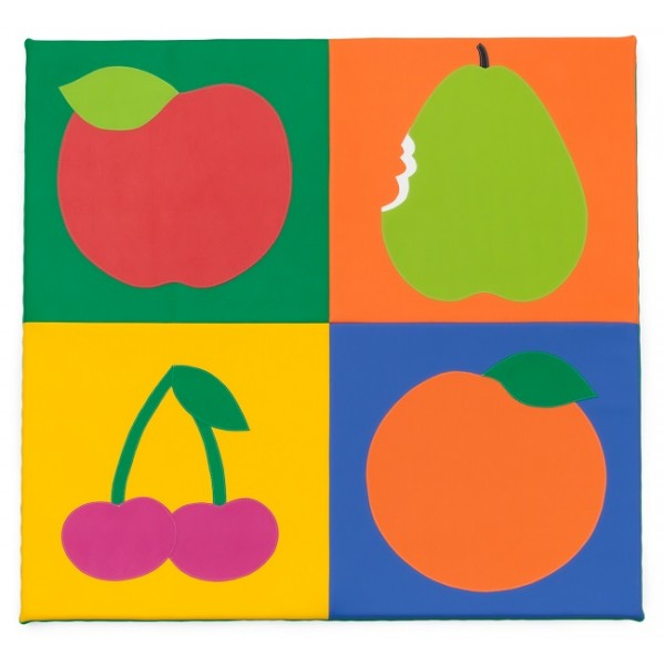Tapis motricité fruits