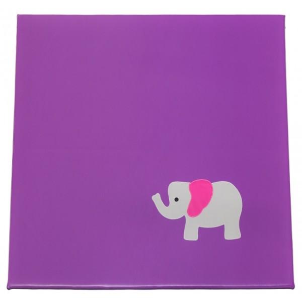 Tapis crèche - motif éléphant