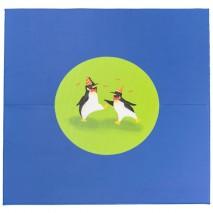 Grand tapis motricité - motif pingouins