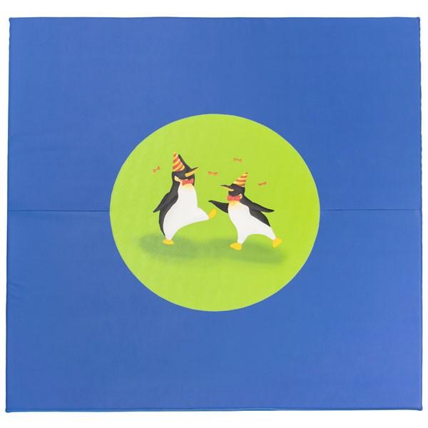 Tapis motricité - motif pingouins