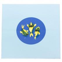 Grand tapis motricité - motif poissons
