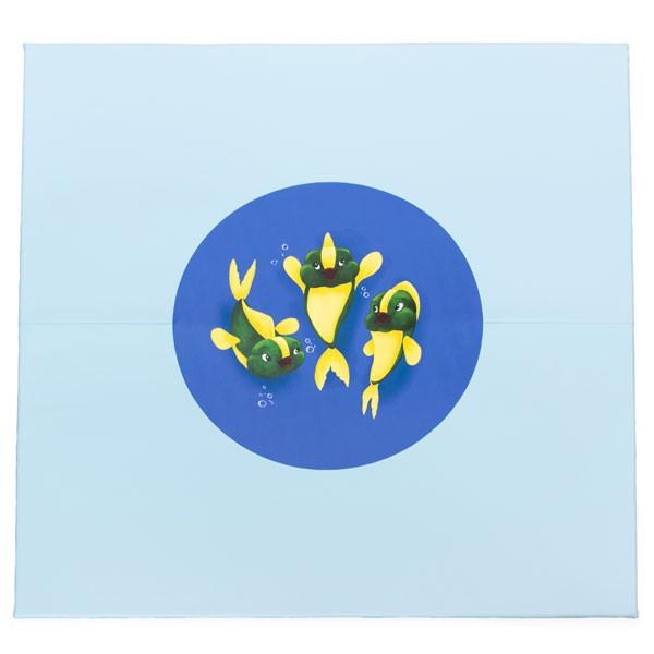 Grand tapis motricité - motifs poissons