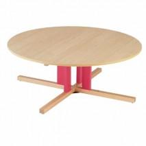 Table ronde avec pieds centrale - T00 à T3
