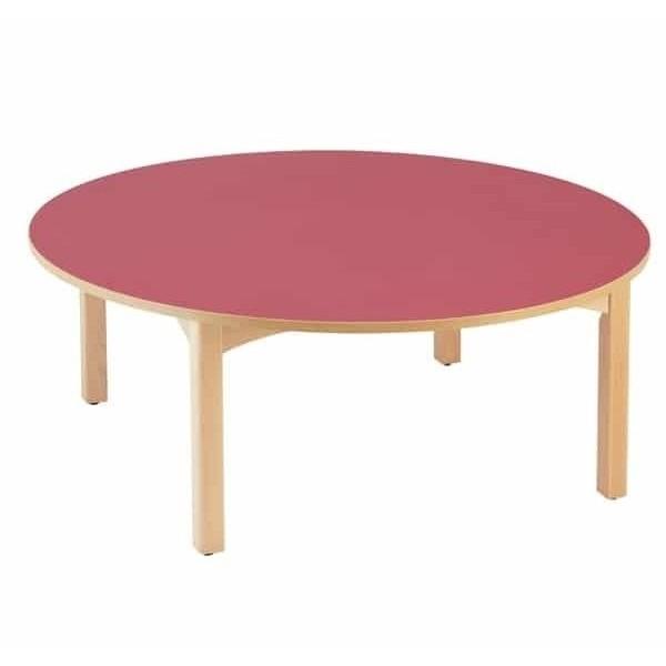 Grande table ronde crèche