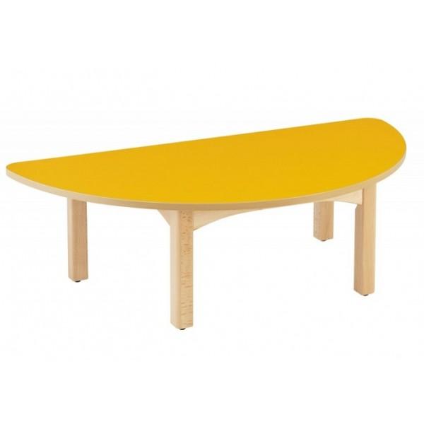 Table demi-lune crèche